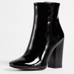 KYLIE AND KENDALL PATENT LEATHER BOOTIE 7